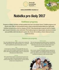 Vzdělávací programy pro školy - ZŠ, MŠ